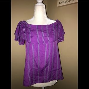 Armani exchange off the shoulder blouse M